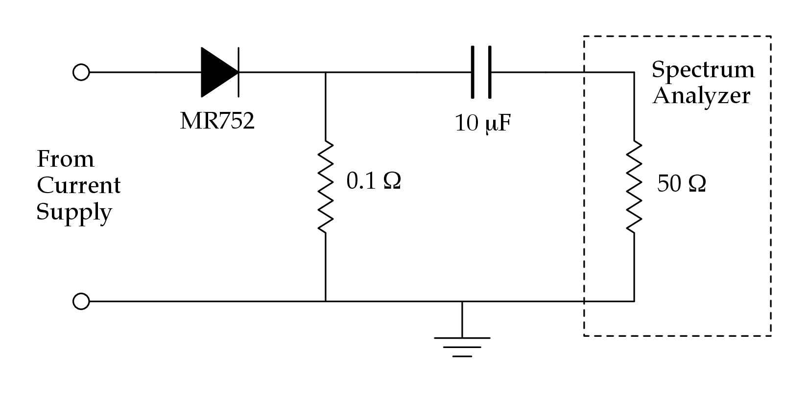 Ta Current Supply Noise Circuit Diagram Zener Diode